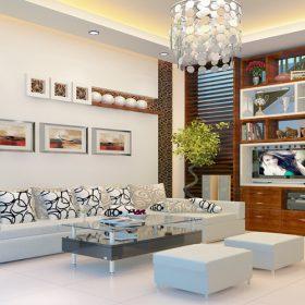 Thiết kế nội thất phong cách hiện đại, linh hoạt được ưa chuộng